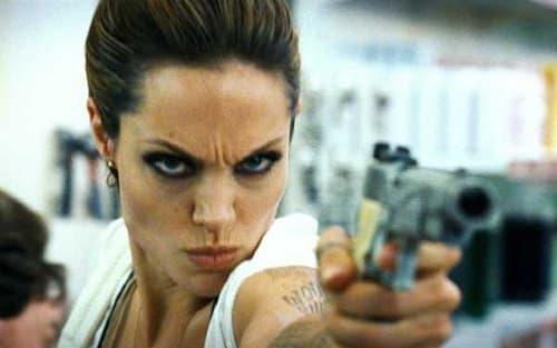 Angelia Jolie in Wanted