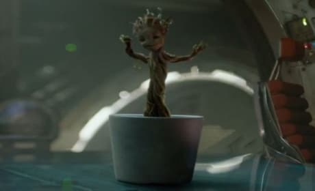 Guardians of the Galaxy Clip: Baby Groot Dancing!
