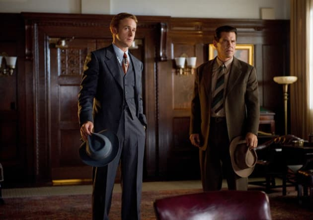 Josh Brolin and Ryan Gosling Gangster Squad