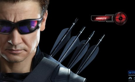 The Avengers Wallpaper: Hawkeye