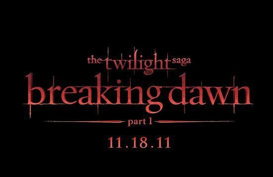 Breaking Dawn Title Art