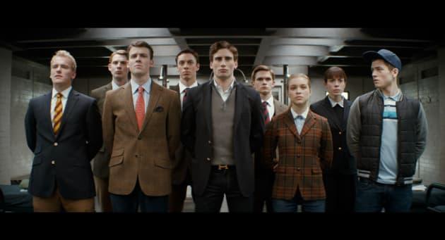 Kingsman The Secret Service Cast Photo