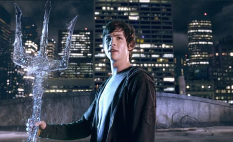 See Percy Jackson Battle the Olympians in These New Photos!
