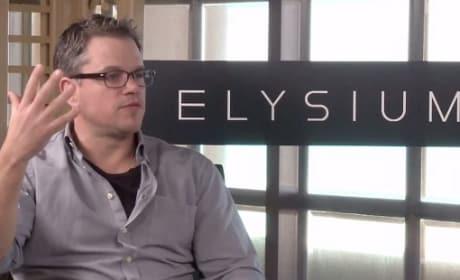 Elysium Star Matt Damon