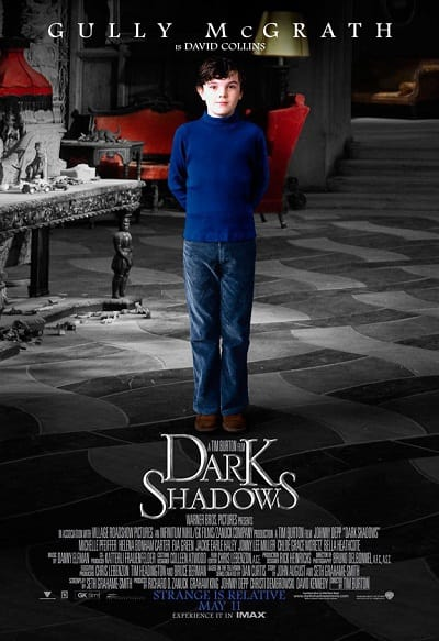 Gully McGrath Dark Shadows Character Poster