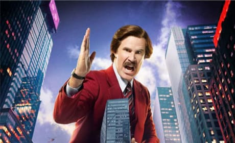 Anchorman 2 Character Posters: Ron Burgundy Looms Large