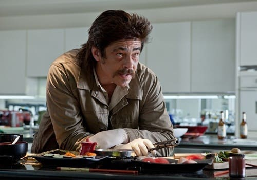 Benicio Del Toro in Savages