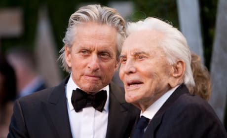Michael Douglas Kirk Douglas Photo