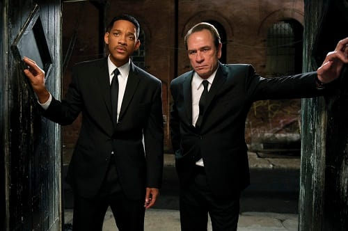 Will Smith and Tommy Lee Jones in Men in Black III