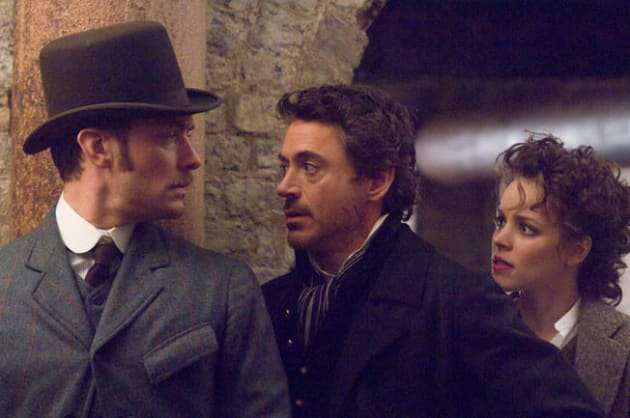 Watson, Holmes, and Adler