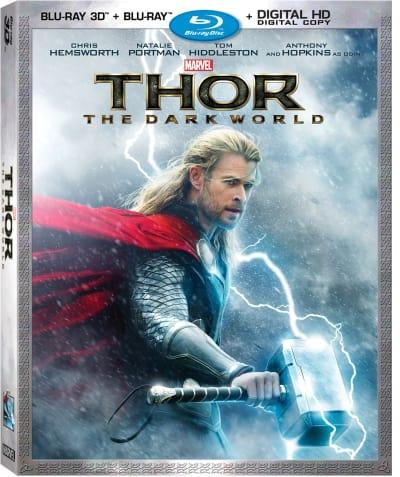 Thor The Dark World DVD