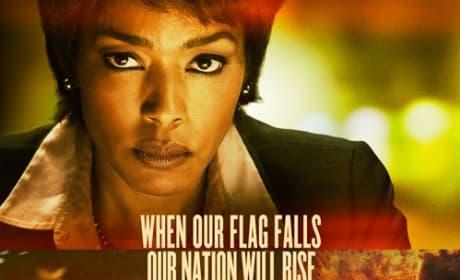 Angela Bassett Olympus Has Fallen Poster
