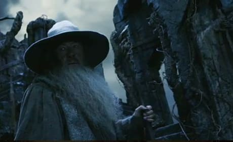 Ian McKellen in The Hobbit