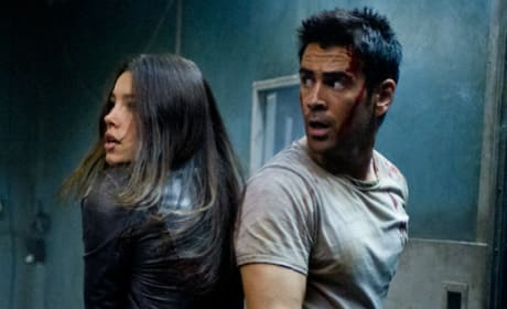 Total Recall Clip Hits the Net: A Kiss Goodbye