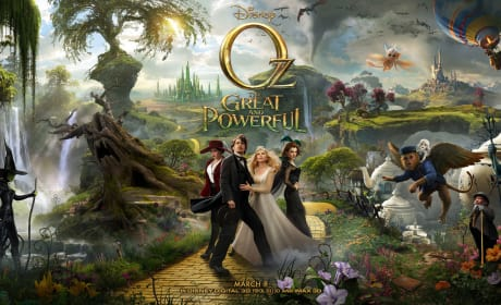 Oz: The Great and Powerful Gets Full Triptych Poster and 3 New Stills