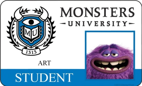 Art Monsters University Student ID