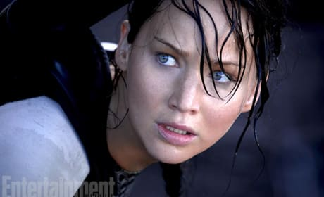 Catching Fire Stills: Katniss Stares Down Competition