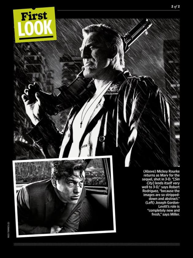Sin City: A Dame to Kill For Mickey Rourke