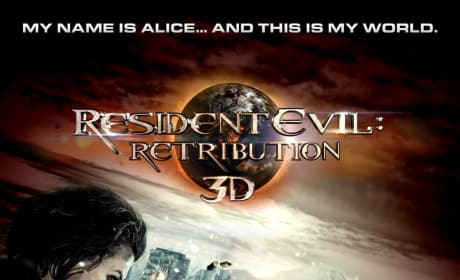 Poster for Resident Evil: Retribution