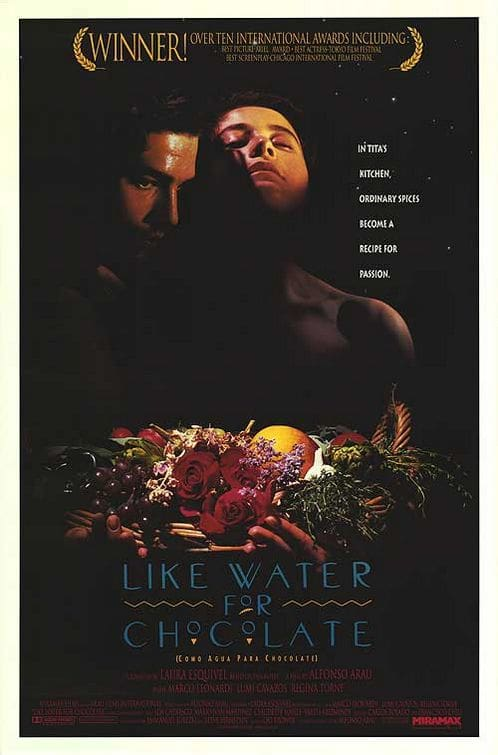 Like Water for Chocolate Poster