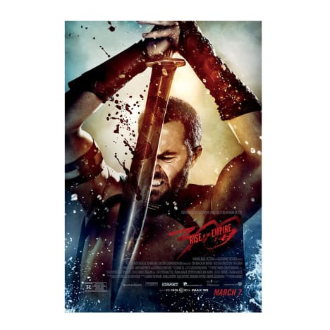 300: Rise of An Empire Prize Poster