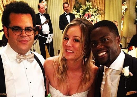 Josh Gad Kaley Cuoco Sweeting Kevin Hart The Wedding Ringer Set
