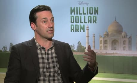 Million Dollar Arm Exclusive: Mad Men's Jon Hamm Pitches Something New