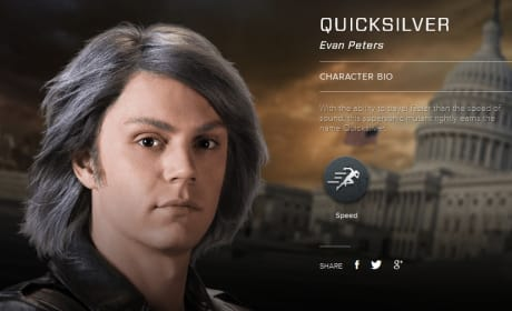 X-Men Days of Future Past Quicksilver Bio Banner