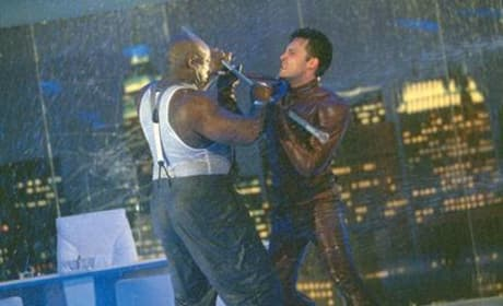 Daredevil fights Kingpin
