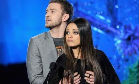 MTV Movie Awards Mila Kunis Justin Timberlake