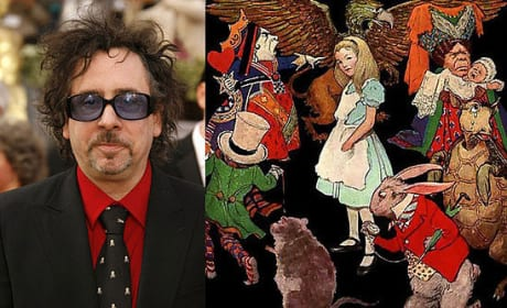 Tim Burton Dishes on Alice in Wonderland Movie
