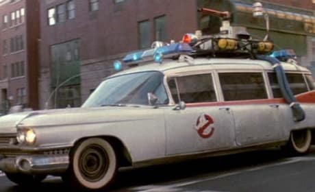 Ghostbusters Ambulance
