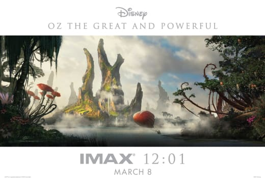 Oz The Great and Powerful IMAX Midnight Poster