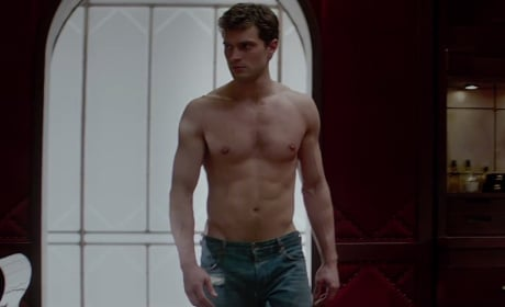 Jamie Dornan Fifty Shades of Grey Still Photos