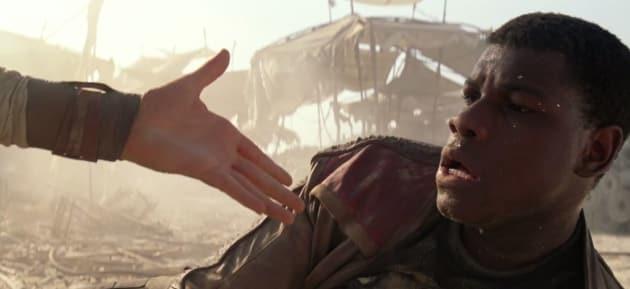 Star Wars The Force Awakens Daisy Ridley John Boyega