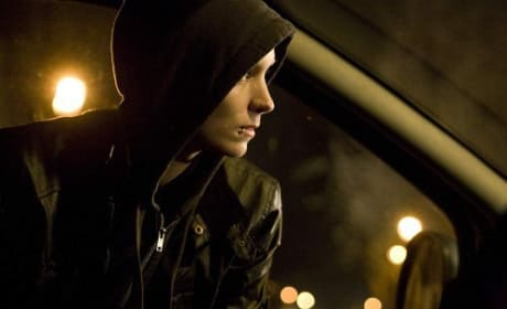 The Girl with the Dragon Tattoo star Rooney Mara Still