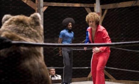 Jackie vs. A Bear