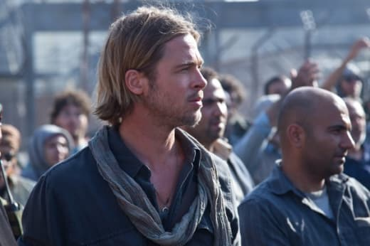 Brad Pitt as Gerry Lane in World War Z
