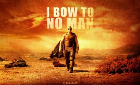 Riddick Banner: I Bow to No Man