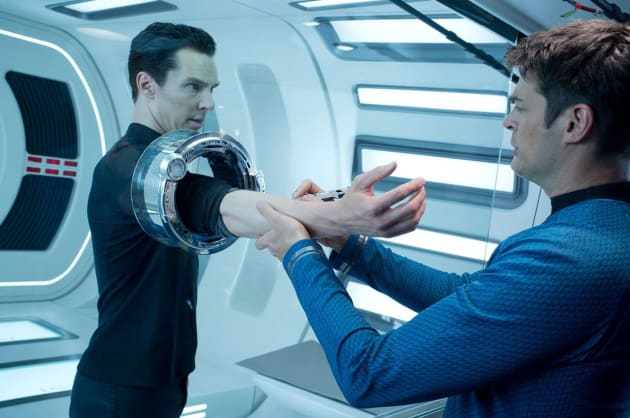 Benedict Cumberbatch Karl Urban Star Trek Into Darkness