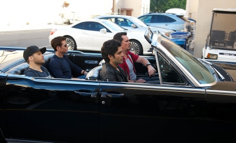 "Entourage: Exploring ""Friendship & Bonding"" On the Set With Adrian Grenier"