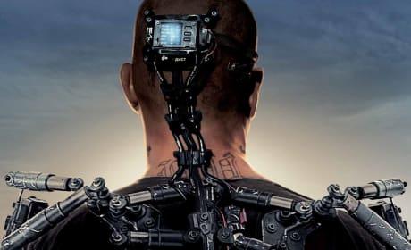 Elysium Poster Drops: Matt Damon's Exoskeleton
