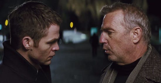 Chris Pine Kevin Costner Jack Ryan Shadow Recruit