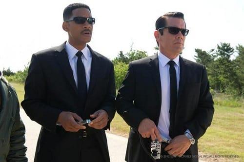 Will Smith and Josh Brolin in Men in Black 3