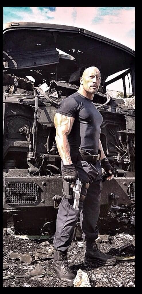 Fast and Furious 7 Dwayne Johnson