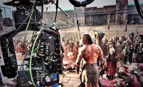 Hercules: Dwayne Johnson Gets Ready to Fight