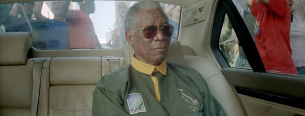 Mandela- Cool Dude in a Luxury Car