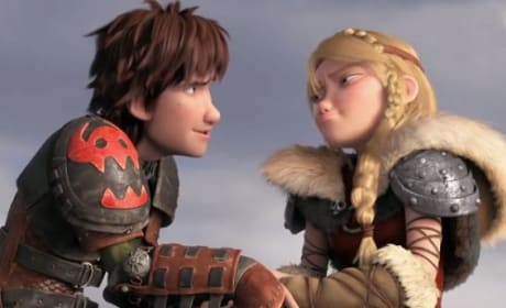 How to Train Your Dragon 2 Astrid & Hiccup