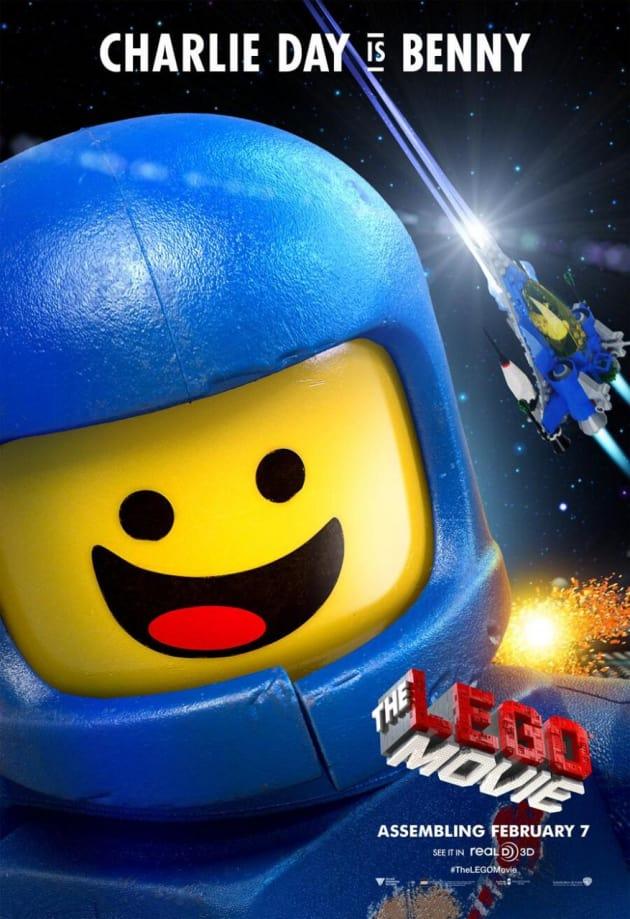 The LEGO Movie Charlie Day Bennie Poster