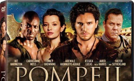 Pompeii DVD Review: Paul W.S. Anderson's Explosive Romance